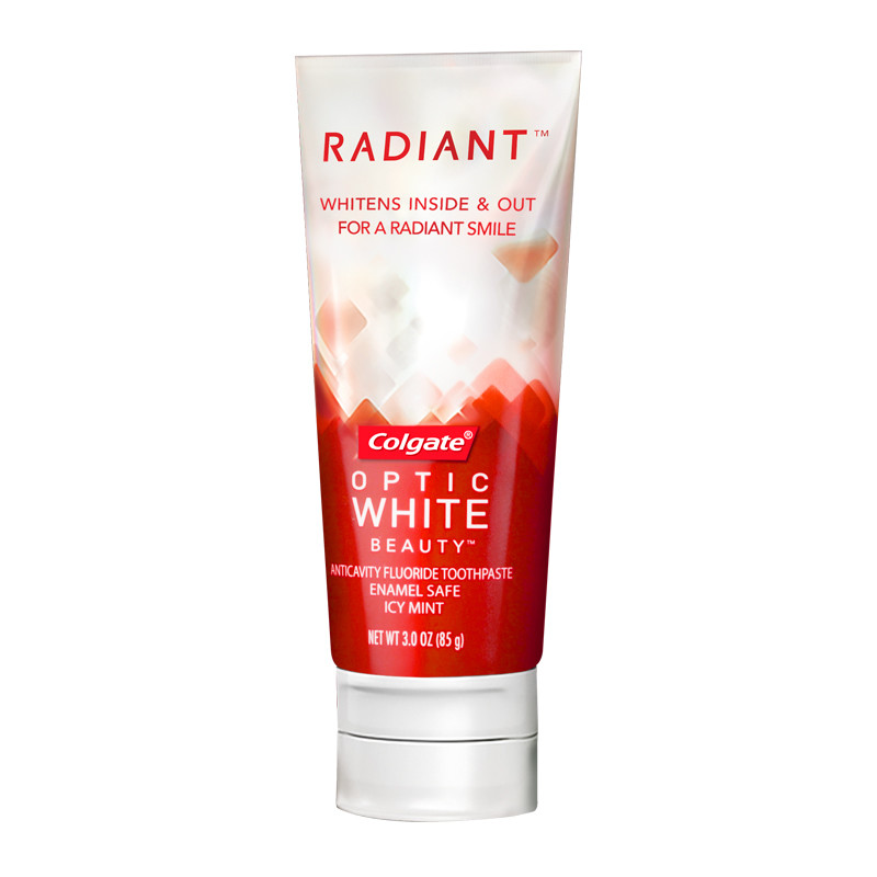 高露洁牙膏光感白 美白去黄去牙渍 正品进口