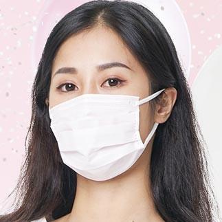 日本白元一次性口罩 14片装
