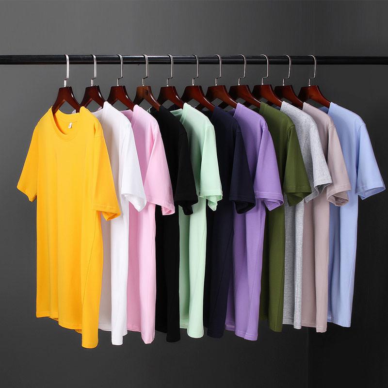 爆款推荐 夏季短袖t恤男士 纯棉韩版潮流印花T恤