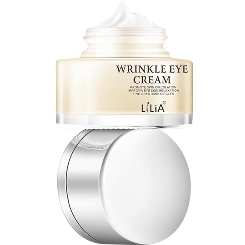 LiLiA眼霜 淡化黑眼圈眼袋 抗皱细纹脂肪粒