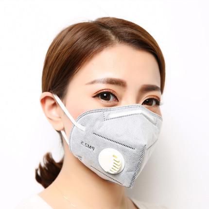 辛盾KN95一次性防尘口罩 5只装