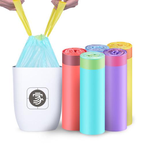 爆款推荐 垃圾袋家用手提式 抽绳自动收口垃圾袋