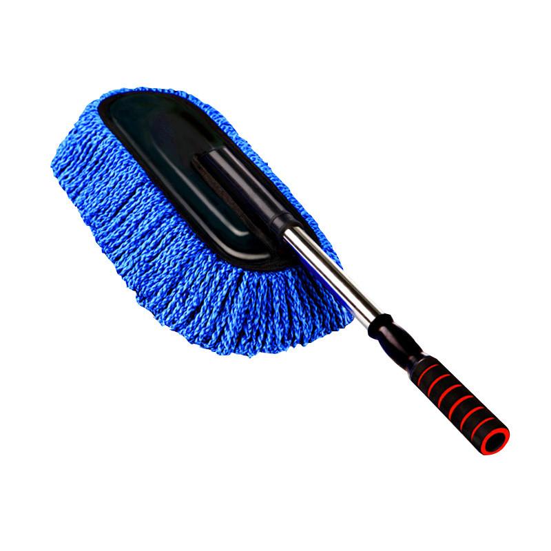 伸缩式汽车蜡刷 擦车拖把洗车除尘掸子清洗护工具套装
