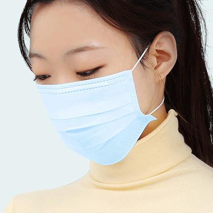 3Q医用口罩 3层一次性口罩 1袋10只