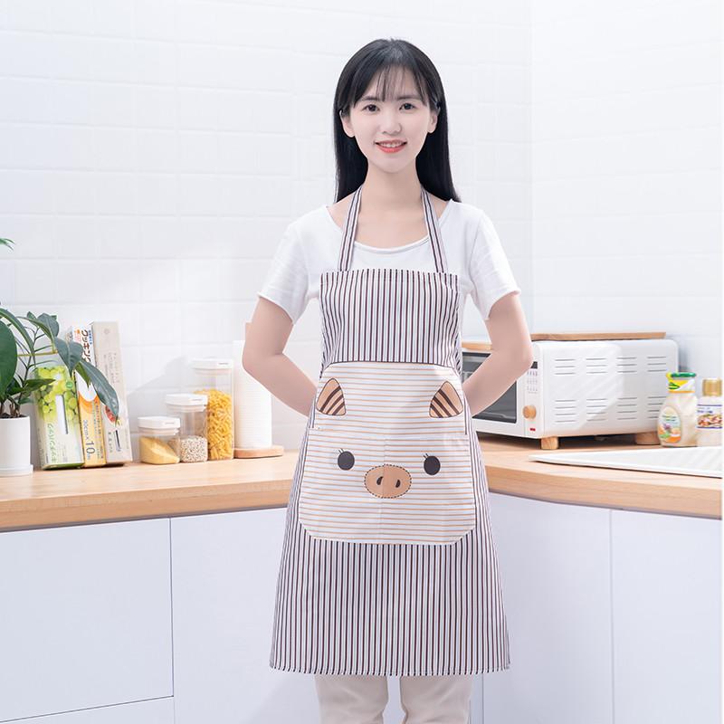 家用围裙 防水防油罩衣 时尚厨房做饭围裙