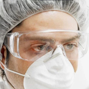 透明劳保护目镜防护眼镜防唾沫飞沫