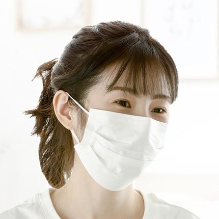 全棉时代 一次性口罩 防尘成人纯棉口罩2片