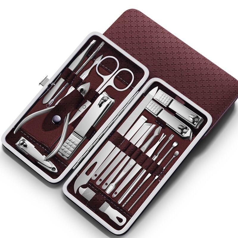 修剪指甲刀套装 家用修脚美甲工具 8件套