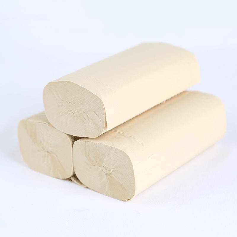 银鸽本色卫生纸 无芯卷纸 家庭装厕纸  实惠装40卷
