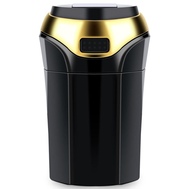 车载烟灰缸 自动吸烟多功能 创意个性有带盖车内烟灰缸
