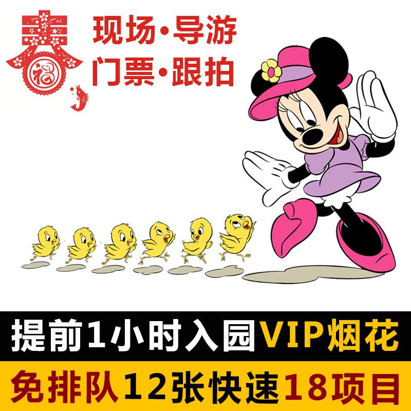 上海迪士尼乐园vip 免排队门票 导游快速通行证 通道33fp