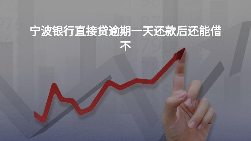 宁波银行直接贷逾期一天还款后还能借不?